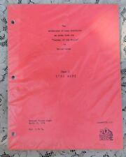 VINTAGE HOLLYWOOD STUDIO STORE STAR WARS SAGA I ADVENTURES OF LUKE STARKILLER 76