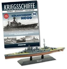 DeAgostini 1:1250 Royal Navy Admiral Class Battlecruiser - HMS Hood, #DAKS14