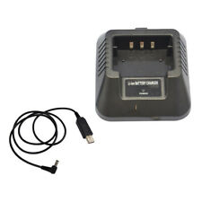 USB Charger Adapter for Baofeng UV-5R DM-5R BF-F8HP Plus Two-Way Radios