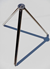 Vintage Silver Bilora Stabilo II Telescoping Metal Tripod • Made in Germany