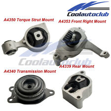 Engine Motor w/ Trans Mount for Nissan Altima 2.5L  07-12 Auto CVT Trans 4PCS