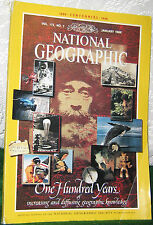 NATIONAL GEOGRAPHIC JAN 1988 NG CENTENNIAL;POLAND;GALAPOGOS;ELECTRIFYING 1880S
