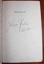 1933 Trekking On & 1943 No Outspan SIGNED Deneys REITZ JC SMUTS Boer War Africa