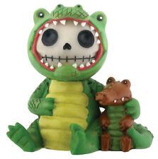 Furrybones Figurine - Chompsy The Alligator - New Skull In Costume