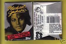 1984 Topps Michael Jackson Wax Pack (x1) Fresh from Box!
