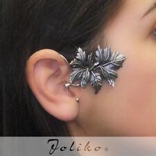 JoliKo Ohrklemme Ohrringe Ear cuff Earring Ahorn Blätter Maple Leaves RECHTS