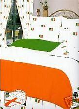 Irish Flag Tri Color Ireland Single Bed Size Duvet Cover Pillowcase Bedding Set