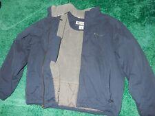 LN Vintage Men's XL COLUMBIA Basic Coat Parka Winter Jacket w/Fleece Lining