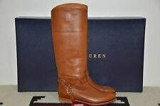 Ralph Lauren Collection Purple Label Leather Equestrian Tall Riding Boots 7.5 B