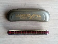Armonica Hohner Vintage Camping 40V - NUOVA NEW - Echo Blues Harp - Marine Band