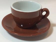 Cappuccinotasse braun Nuova Point Tasse Kaffeetasse ähnlich ACF