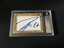 Pau Gasol 2018 Leaf Masterpiece Cut Signature signed autograph auto card 1/1 JSA
