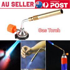 Flamethrower Burner Butane Gas Blow Torch Ignition Camping Welding BBQ Baking AU
