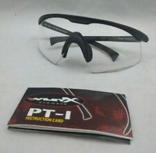 NEW Wiley-X PT-C Clear Shooters Ballistic Eye Protection