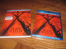 BLAIR WITCH: BLU RAY DVD+DIGITAL HD 2 DISC SET] NEW; SLIPCOVER + I SHIP FASTER