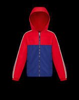 Giubbotto Moncler Junior 9541A701 20 54543 Blu/Rosso 456 Jacket Blue/Red