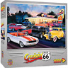 MasterPieces Cruisin Route 66 Jigsaw Puzzle, Dogs & Burgers, Featuring Art by