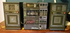 Vintage Sony Fh-7 Mk Compact Ii Hi-Density Component System with Apm Speakers!