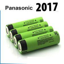 "4 x Genuine Panasonic 18650 3400mAh Rechargeable Battery NCR18650B Li-ion Vape """