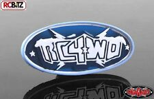 RC4WD Branded Logo Fridge Magnet Note holder Winter Logo Blue S-L0040