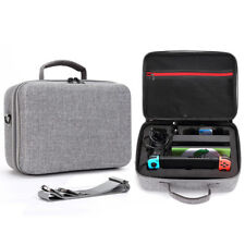 Gray Waterproof Hard Storage Box Carrying Case Shoulder Bag For Nintendo Switch