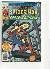 Marvel Team up 65 1st U.S. Appearance of Captain Britain! Amazing Key!