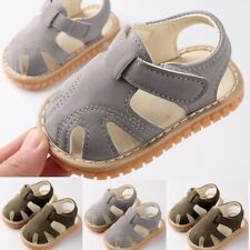 Toddler Infant Girls Baby Boys Flat With Cute Summer Sandals Cute Soft Shoes