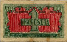 España  Guerra Civil     MBC/VF Archena / 1 Peseta 1937