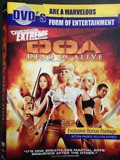 DOA: Dead or Alive (DVD, 2007) Blockbuster Exclusive, Ex-Rental, Eric Roberts