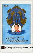 2006 Select AFL Supreme Trading Cards Medal Card Full Set (5)