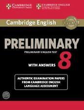CAMBRIDGE ENGLISH PRELIMINARY 8