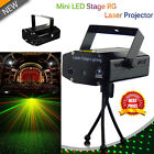 Sound Activated LED RG Disco DJ Light Laser Strobe Projector Light Party Club