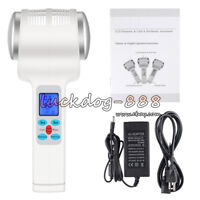 Ultrasonic Hot Cold Hammer Lymphatic Face Massager Ultrasound Facial Body Beauty