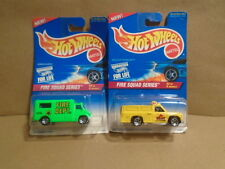 Hot Wheels 1995 Fire Squad Full Series Trucks