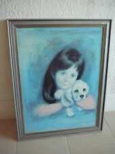 Dealer or Reseller Listed Vintage Blue Art
