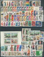 Berlin Lot Marken- aus Jahrgang 1970/73o, o.C/D, Michel 78€
