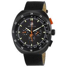 Brooklyn Floyd Black Dial Black Canvas Multifunction Mens Watch 305-M4444