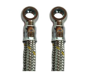 Kraftstoffleitung Dieselleitung Benzinleitung Stahlgewebe Ringöse beidseitig