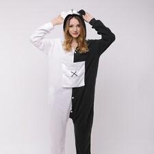 Danganronpa Monokuma Unisex Warm Homewear  Cosplay Kigurumi Jumpsuit Pajamas