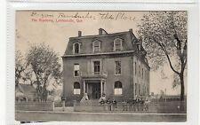 THE ACADEMY, LENNOXVILLE: Quebec postcard (C27564)