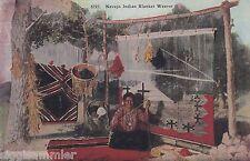 Navajo Indian Blanket Weaver ak native Indians indios EE. UU. 1607234