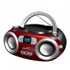 Supersonic Bluetooth Portable Stereo MP3/CD FM Radio USB AUX-IN SC-509BT REFURB