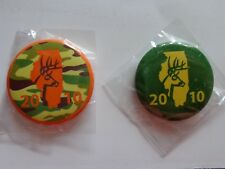 2010 Illinois Deer Shotgun/Archery Pins Set IDNR Issued