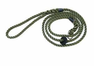 Bisley Nylon Rope Slip Lead-Green *Free P&P*