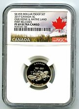 2017 CANADA 15OTH ANNIVERSARY PROOF 5 CENT NGC PF69 UCAM FIRST RELEASES NICKEL