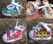 Cute Mini Sneaker Sport Shoe Charm Key Ring Chain
