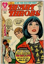 HEART THROBS NO.140 1972 DC-ROMANCE VG+ GHETTO-RACISM THEMED STORY 52 PAGES!