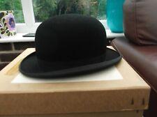 HERBERT JOHNSON NEW BOXED BOWLER HAT SIZE 67/8