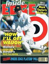 Inside Edge Cricket Magazine - No 52 January 1998