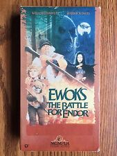 STAR WARS EWOKS THE BATTLE FOR ENDOR VHS ITEM #666-20